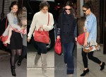 Katie Holmes Loves Her Clare Vivier Messenger Bag