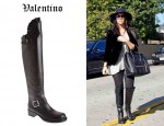 Kourtney Kardashian's Valentino Tall Boots