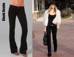 Kristin Cavallari's Blank Denim Corduroy Bell Bottom Pants