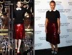Lara Bingle In Louis Vuitton - Louis Vuitton Maison Australia After Party