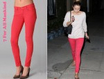 Lauren Conrad's 7 For All Mankind Skinny Jeans