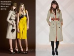 Lou Doillon in Burberry Prorsum - Burberry Celebrates Paris Boutique Opening