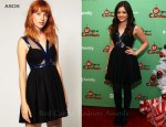 Lucy Hale In ASOS - 2011 ABC Family 25 Days Of Christmas Winter Wonderland