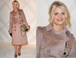 Melanie Laurent In Burberry Prorsum - Burberry Celebrates Paris Boutique Opening