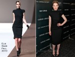 Mia Wasikowska In Elie Saab - 'Albert Nobbs' New York Screening