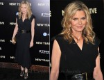 Michelle Pfeiffer In Alexander McQueen - 'New Year's Eve' New York Premiere