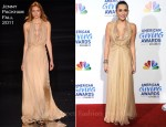 Miley Cyrus In Jenny Packham - 2011 American Giving Awards