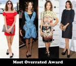 Most Overrated Award - Alexa Chung