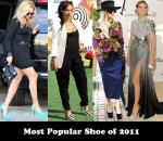 Most Popular Shoe of 2011 - Christian Louboutin Daffodile Pumps