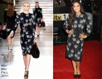 Myleene Klass In Miu Miu - The Sun Military Awards