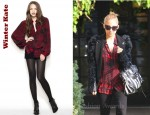Nicole Richie's Winter Kate Tilapia Blouse