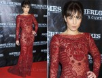 Noomi Rapace In Emilio Pucci - 'Sherlock Holmes: A Game of Shadows' Stockholm Premiere