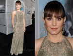 Noomi Rapace In Valentino - 'Sherlock Holmes: A Game of Shadows' LA Premiere