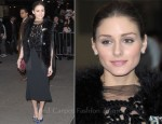 Olivia Palermo In Giorgio Armani - 'W.E.' New York Screening