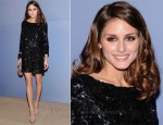 Olivia Palermo In Marchesa - Valentino Garavani Virtual Museum Launch Party