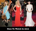 Ones To Watch In 2012
