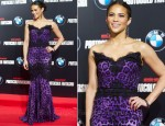 Paula Patton In Dolce & Gabbana - 'Mission Impossible: Ghost Protocol' Madrid Premiere