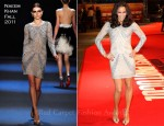 Paula Patton In Naeem Khan - 'Mission Impossible: Ghost Protocol' London Premiere