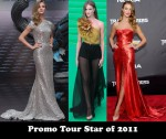 Promo Tour Star of 2011 - Rosie Huntington-Whiteley for 'Transformers: Dark of the Moon'