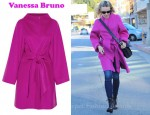 Rachel McAdams' Vanessa Bruno Wool And Cashmere-Blend Felt Coat