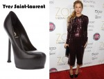 Rachel Zoe's Yves Saint-Laurent Tribtoo Shoe