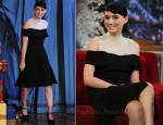 Rooney Mara In Rodarte for Opening Ceremony - Late Night with Jimmy Fallon