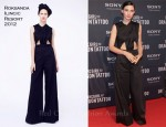 Rooney Mara In Roksanda Ilincic - 'The Girl With The Dragon Tattoo' Stockholm Premiere
