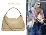 Rosie Huntington-Whiteley's Mulberry Evelina Leather Satchel