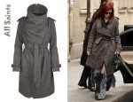 Rumer Willis' All Saints Nahara Trench Coat