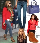 Steal Her Style: Beyonce's Rocking Red
