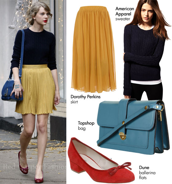 Steal Her Style Taylor Swift S Primary Colours Red Carpet Fashion Awards