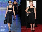 Scarlett Johansson In Dolce & Gabbana - 'We Bought A Zoo' New York Premiere