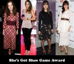 She's Got Shoe Game Award - Leighton Meester