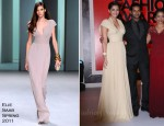 Sonam Kapoor In Elie Saab - 2011 Marie Claire Fashion Awards