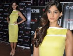 Sonam Kapoor In Victoria Beckham - 'Superstar Santa' Launch