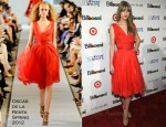 Taylor Swift In Oscar de la Renta - Billboard's 6th Annual Women In Music Event