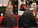 Who Wore Marchesa Better? Olivia Wilde or Jennifer Hudson