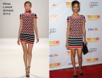 Zoe Saldana In Rena Lange - The Trevor Project's 2011 Trevor Live!