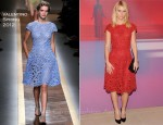 Claire Danes In Valentino - Valentino Garavani Virtual Museum Launch Party