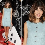 Alexa Chung In Chanel - 'Numeros Prives' Exhibition by Chanel