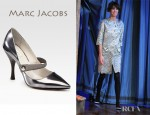 Alexa Chung's Marc Jacobs Runway Point Toe Mary Jane Pumps