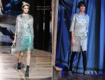 Alexa Chung In Marc Jacobs - 'Late Night with Jimmy Fallon'