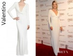 Ali Larter's Valentino Stretch Cady Dress