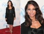 Alicia Keys In Dolce & Gabbana - 2012 Producers Guild Awards