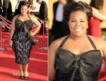 Amber Riley In Badgley Mischka - 2012 SAG Awards