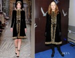 Andrea Riseborough In Valentino Couture -  'Shadow Dancer' Sundance Film Festival Dinner