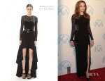 Angelina Jolie In Michael Kors - 2012 Producers Guild Awards