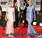 Best Dressed Of The Week - Angelina Jolie In Atelier Versace & Tilda Swinton In Haider Ackermann