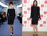 Anna Mouglalis In Chanel Couture - Sidaction Gala Dinner 2012