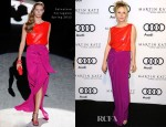 Anne Heche in Salvatore Ferragamo - 'Kick Off To The 2012 Golden Globes' Event hosted by Audi and Martin Katz